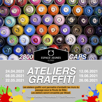 ATELIER GRAFFITI - 2800CAPS